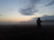 En fiskedag lakker mod enden.