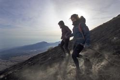 Vulkan-Abstieg