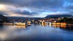 Bergen am Morgen