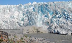 Kalbender Gletscher