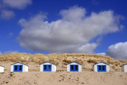 Strandhäuschen auf Texel