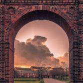 Porten til Arts department