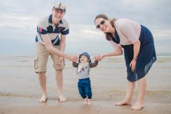 Strandpromenad för hela familjen!
