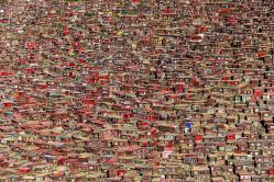 Rotes Häusermeer