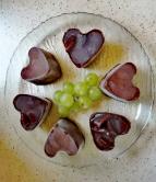 Édes szívek gyümölccsel