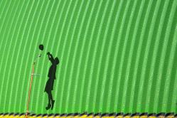 Stín sportovce