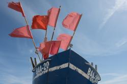 Fischerboot auf Rügen