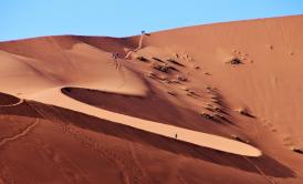 Licht & Schatten in der Wüste!