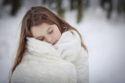 Zimně zasněná