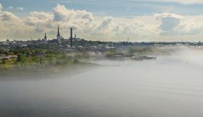 Tallinn im Nebel