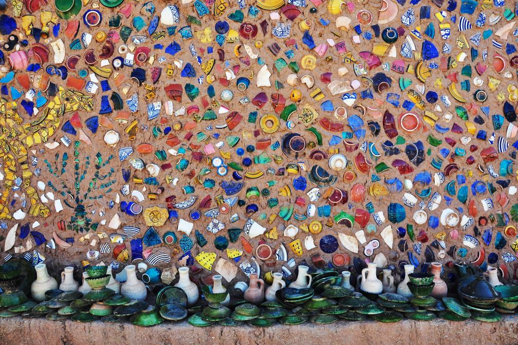 Scherben-Mosaik