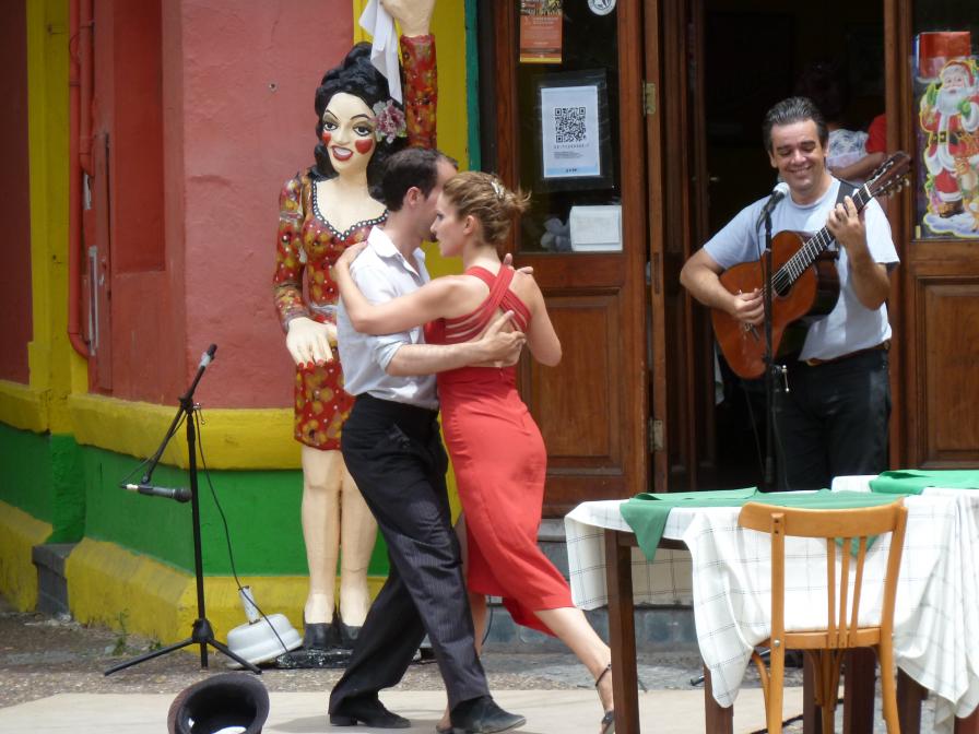 Tango am Caminito