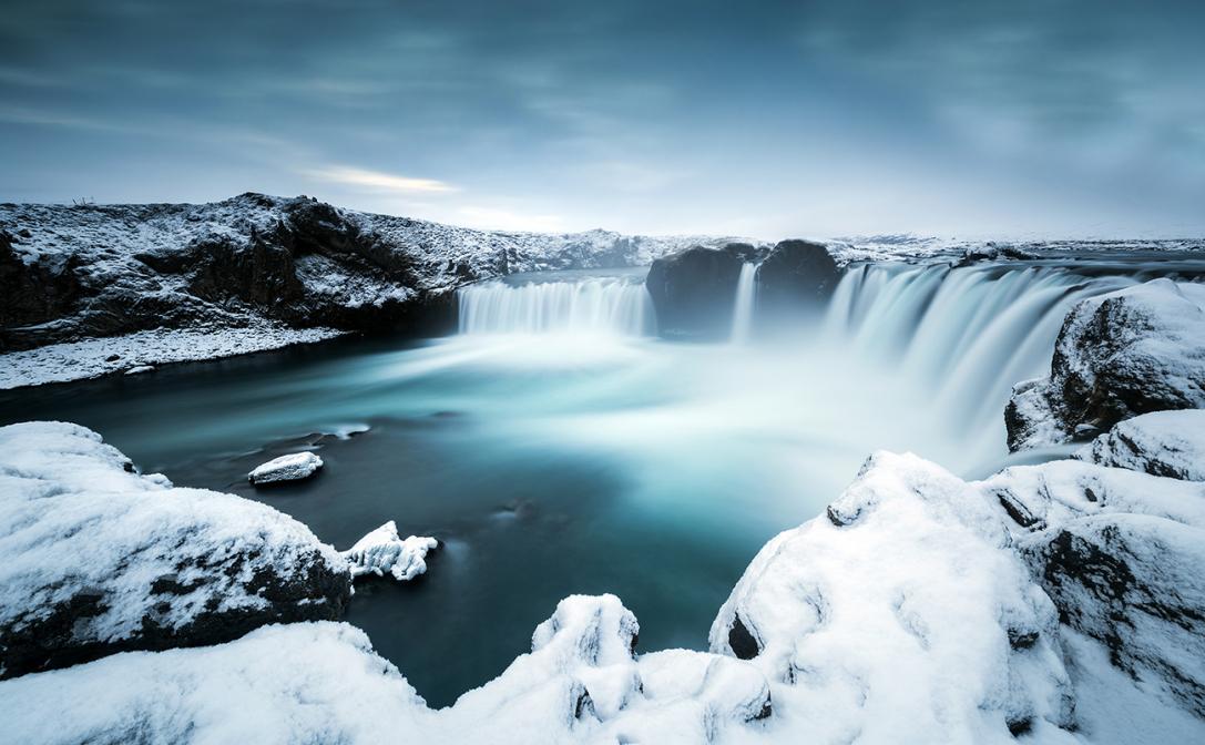 Icy Godafoss