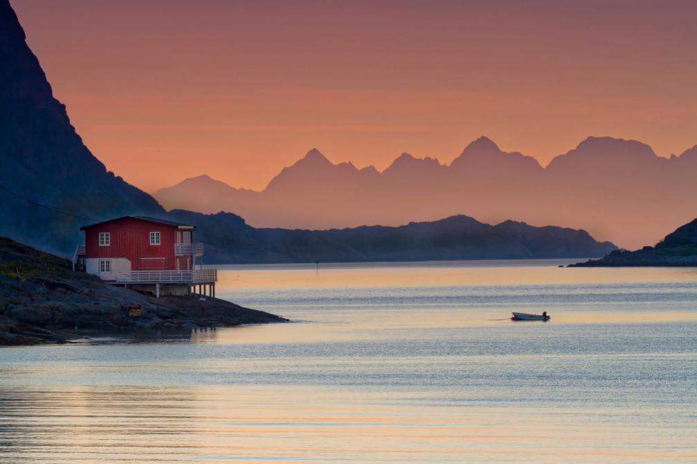 Fischerhütte bei Henningsvaer