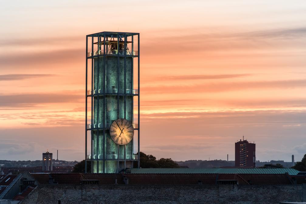 Rådhustårnet i Aarhus