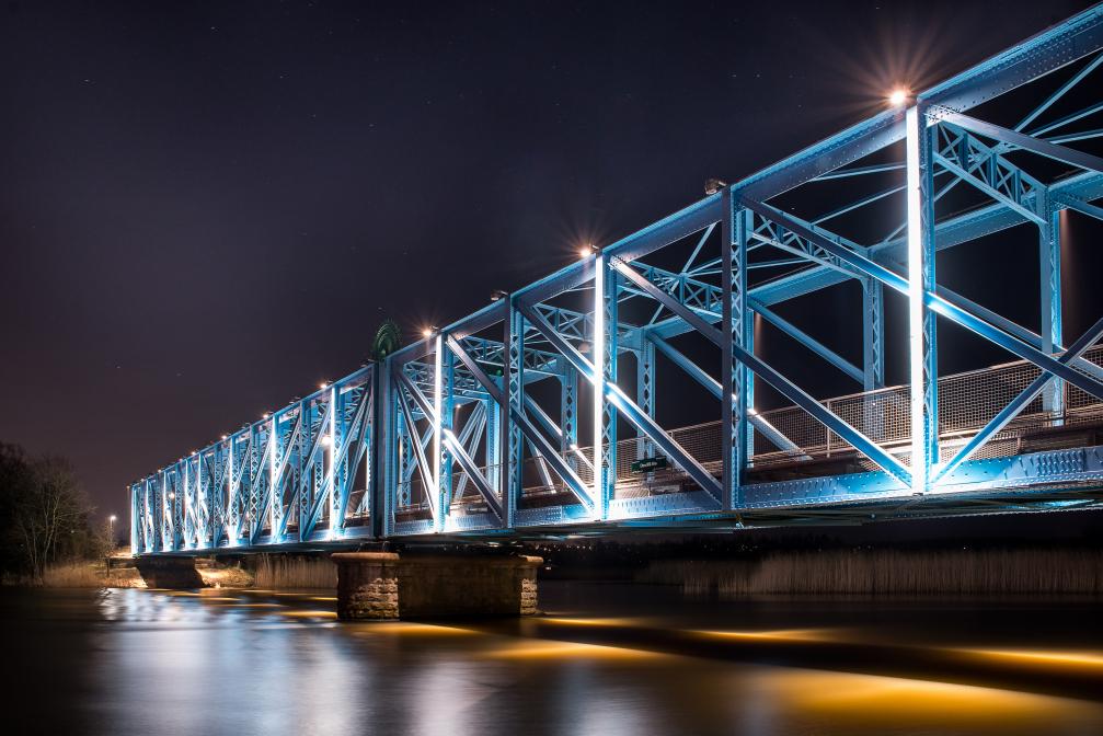 Den blå bro