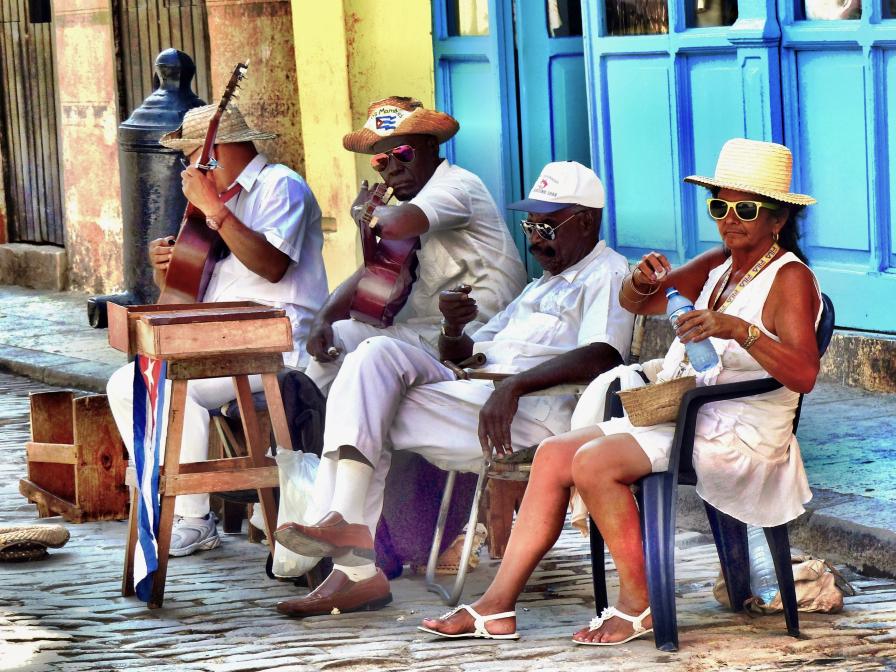 Kubanische Band
