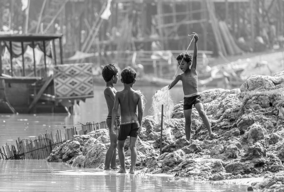 Les enfants de la rivière