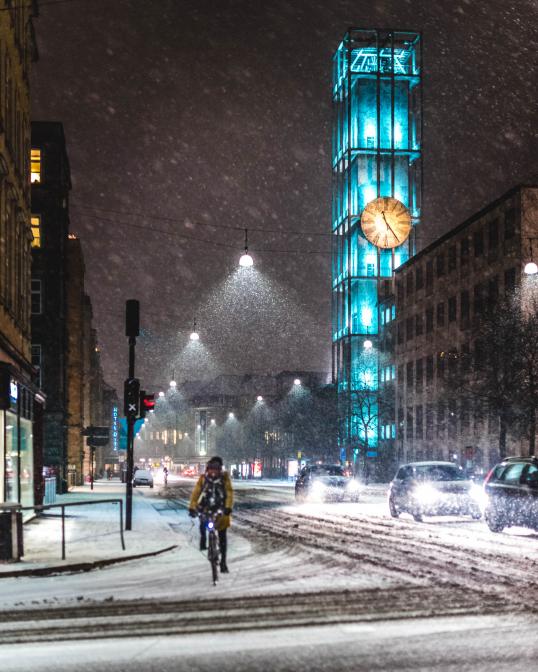 Sne i Århus