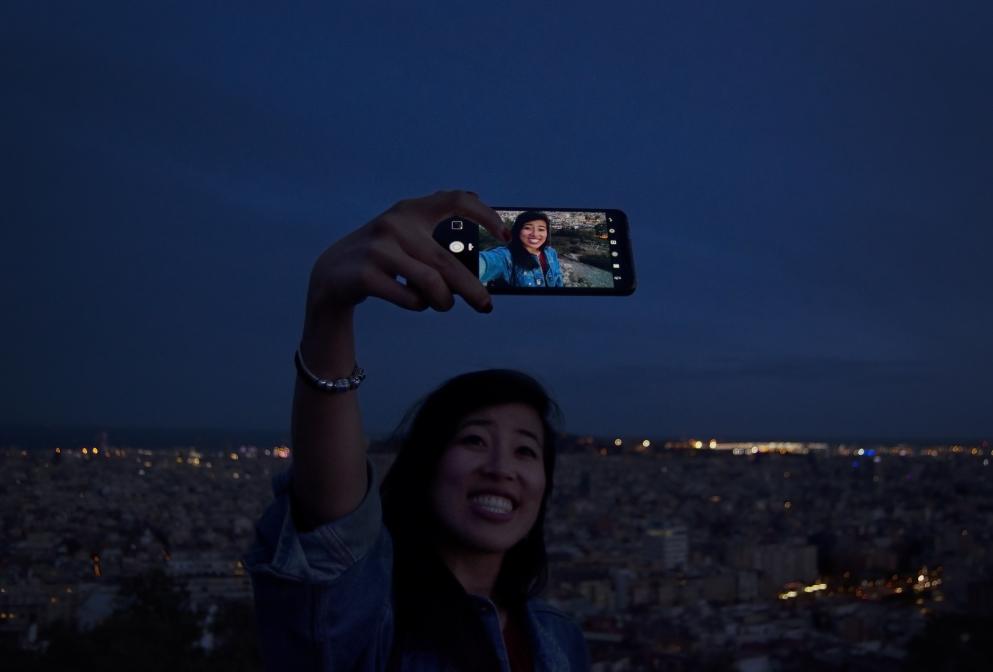 Last selfie before darkness comes