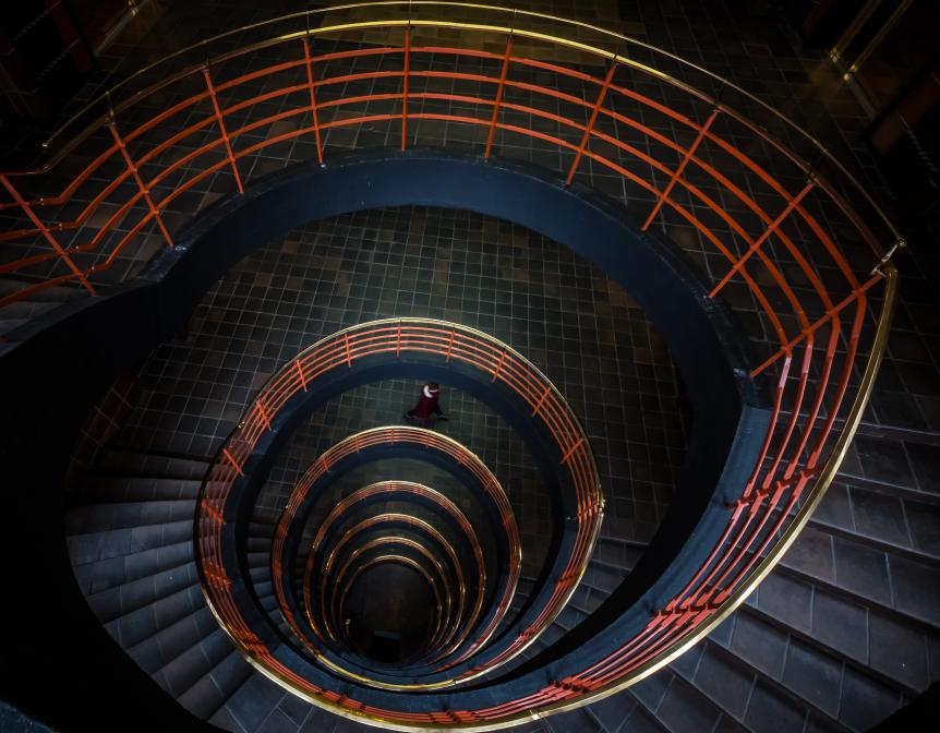 - Sprinkenhof Treppe -