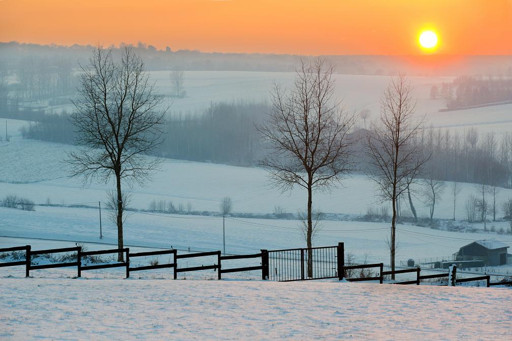 zonsondergang op de patersberg