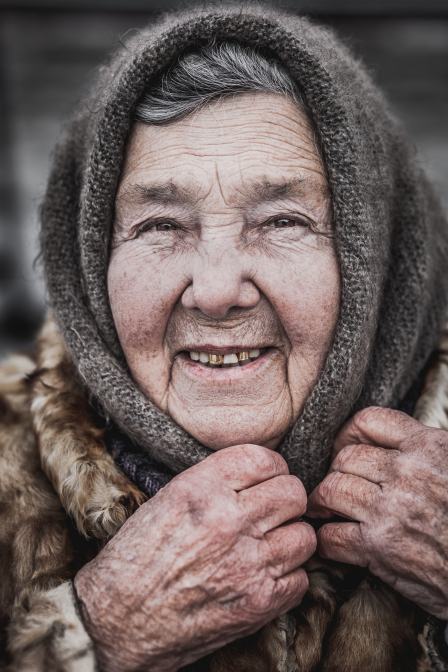 Russian old woman II