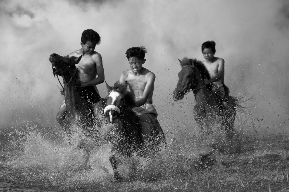 Traditional horse racing