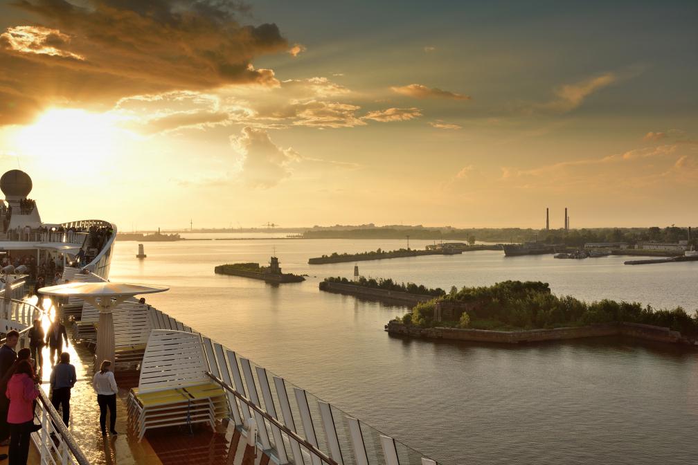 Passage von Kronstadt